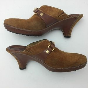 Cole Haan Horsebit Wedge Clog Mule 8 AA Casual